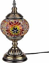 Türkisch Mosaik Tischlampe Handarbeit