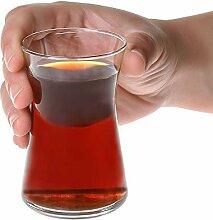 Türkische Teeglas-Tassen: Traditionelles Teeset