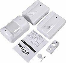 Türklingel Alarm drahtlose Sensor-Detektor Glocke