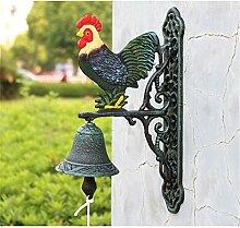 Türklingel Außerhalb Haus Vogel Rustikale