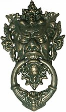 Türklopfer Teufel Fratze Gothic Antik Design gruselig schöner Tür Klopfer Eisen