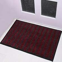 Türmatten Kommerzielle Tür Anti-Rutsch-Matte Farbe Größe Optional Hall Door Mat ( Farbe : A , größe : 60*100CM )