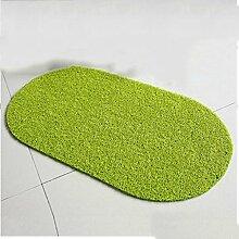Türmatten Umweltschutz Seidenfaden Türauflage 39.5 * 70CM Tür Hall Mat ( Farbe : A )
