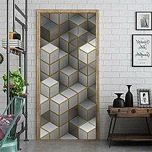 Türposter Selbstklebend 3D Kreativität 3D