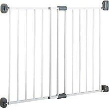 Türschutzgitter Metall Safety Up, weiß, 60 - 97
