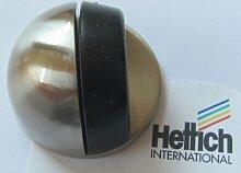 Türstopper, ø 40 mm, Metall nickel matt, Bodenmontage, 1 Stück. 62522