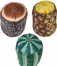 Türstopper Ananas, Kaktus oder Baumstamm aus Stoff (Ananas)