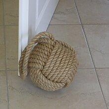Türstopper Design Ball Seil Tau Tauknoten maritim