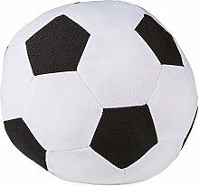 Türstopper Fußball Classic schwarz weiß ca. 22 cm rund Doorstop Türhalter