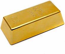 Türstopper Goldbarren