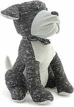 Türstopper-Hund (Einheitsgröße) (Grau/Weiß)
