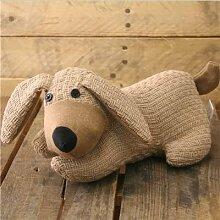 Türstopper Hund In Beige Seil Schnur ~ Tuerstopper Dekorativ
