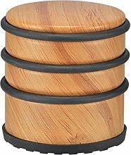 Türstopper im Bambus-Design - Schwere Türpuffer mit Gummiring zur Schonung Ihrer Türen (Bambus - 1 Stück - Modell 4)
