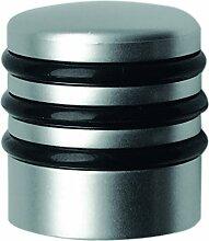 Türstopper Kunststoff matt vernickelt 28x30mm 1 St.