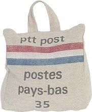 Türstopper Postsack PTT 17x17x10cm Clayre & Eef (12,95 EUR / Stück)
