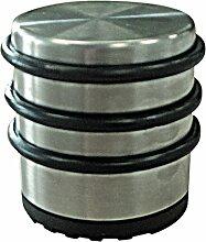 Türstopper Puck hoch Edelstahl 68x74mm 1 St.