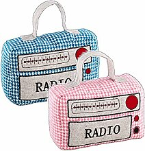 Türstopper RADIO - Doorstop - pink oder blau - 60's Style (blau)