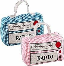 Türstopper RADIO - Doorstop - pink oder blau -