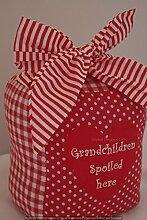 Türstopper Rot Grandchildren spoiled here EX HEAVY