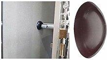 Türstopper Stoßstangen Wand montiert, Gummi,