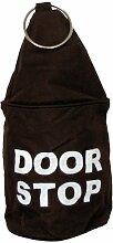 Türstopper Tür Sack Hülle DOOR STOP, braun