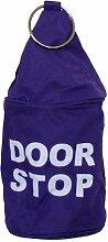 Türstopper Tür Stop Sack Hülle DOOR STOP, lila