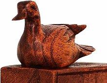 Türstopper Türkeil Windschutz Möbelkeile Holzkeile Fensterstopper Holz Deko Tiermotiv Figur Material Ente