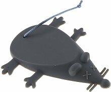 Türstopper Türpuffer Fingerschutz Türsicherung Klemmschutz Wandpuffer Grau Maus