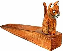 Türstopper Türstopper Holz Katze Handwerk Decoration Stopper Door Cat Wooden Wood
