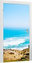 Türtapete Coastline B x H: 91cm x 200cm von Klebefieber®