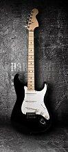 Türtapete E-Gitarre TT353 90x200cm Tapete Rock