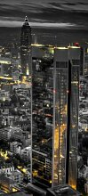 Türtapete Frankfurt bei Nacht TT208 90x200cm