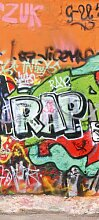 Türtapete Graffitiwand 3 TT025 90x200cm Tapete