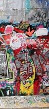 Türtapete Graffitiwand 5 TT027 90x200cm Tapete