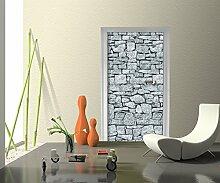 Türtapete Granit Tapete Kunstdruck Türbild M0028 | 70 x 200cm (B x H) | Vlies