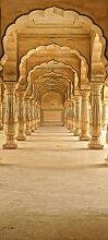 Türtapete Jaipur Amber Hall TT175 90x200cm Tapete Tempel Bernstein Muslimisch