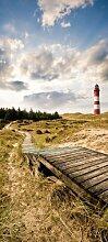 Türtapete Leuchtturm in Dünen TT231 90x200cm