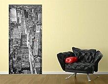 TürTapete Midtown Manhattan II Tapete Amerika Manhattan Metropole Big Apple, Größe:221cm x 81cm