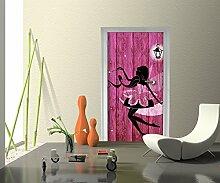 Türtapete Porträt einer schönen Fee Tapete Kunstdruck Türbild M0690 | 100 x 200cm (B x H) | Vlies