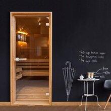 Türtapete - Sauna