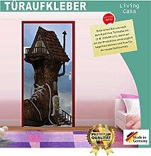 Türtapete Selbstklebend Schuhhaus 87x200cm