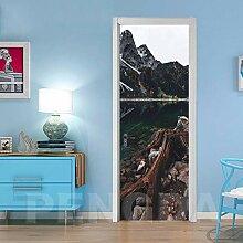 Türtapete Selbstklebend Tür 77X200Cm Schöne