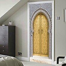 Türtapete Selbstklebend Tür 77X200Cm Vintage
