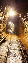 Türtapete Stollen TT267 90x200cm Tapete Untertage Kohle Bergbau