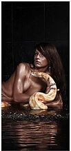 Türtapete Türposter Nackte Frau mit