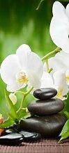 Türtapete Wellness TT374 90x200cm Tapete Orchidee