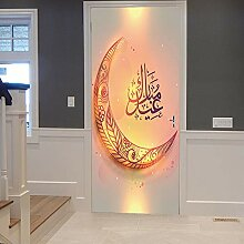 Türtapeten Selbstklebend 3D Ramadan Dekoration