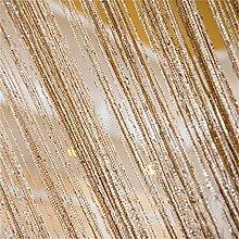 Türtrennwand - Glitzernde Hochzeitsschnur Panel