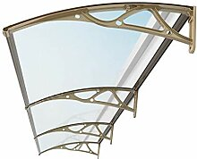 Türvordach Sonnensegel, Transparente Tür Canopy