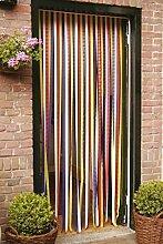 Türvorhang Insektenschutzvorhang Insektenschutz Vorhang Tür Fliegengitter Streifenvorhang 90x210 cm
